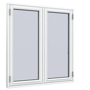 2-fags Sidehængt vindue