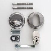 Låsetype, cylinder/vrider
